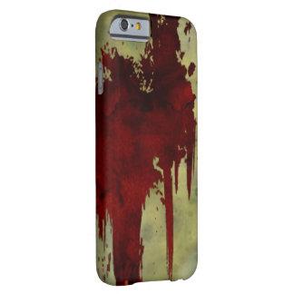 ゾンビの黙示録の血ライン iPhone 6 ベアリーゼアケース