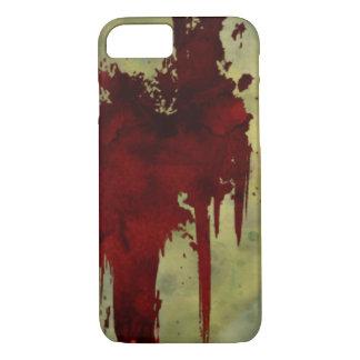 ゾンビの黙示録の血ライン iPhone 7ケース