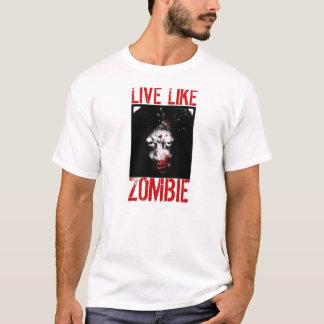 ゾンビの黙示録のTシャツライン Tシャツ