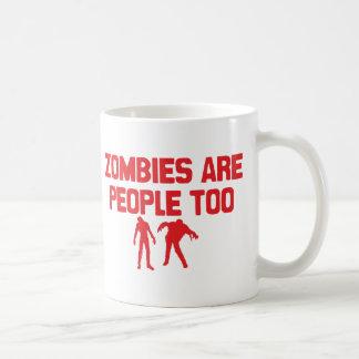 ゾンビは人々ですも コーヒーマグカップ