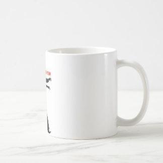 ゾンビは人間で信じません コーヒーマグカップ