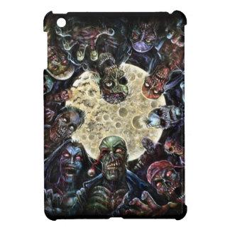 ゾンビは攻撃します(ゾンビの大群) iPad MINI カバー