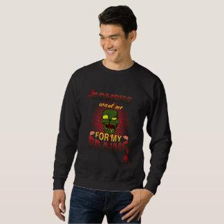 ゾンビは私の頭脳のための私がほしいと思います スウェットシャツ