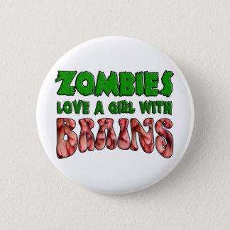 ゾンビは頭脳を持つ女の子を愛します 缶バッジ