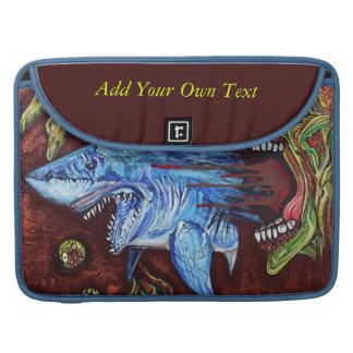 ゾンビは鮫を食べます MacBook PROスリーブ