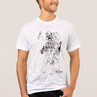 ゾンビ愛ケチャップのティー Tシャツ