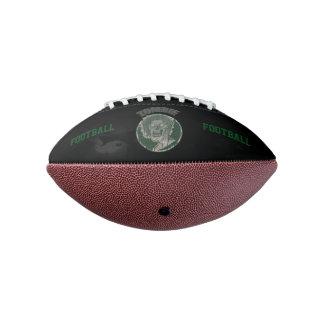 ゾンビ、黒で緑のフットボール アメリカンフットボール