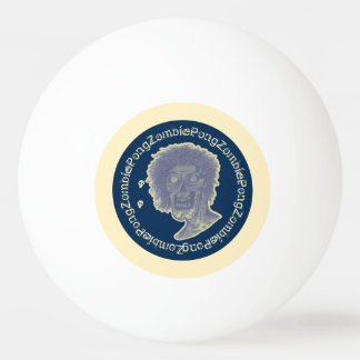ゾンビPong! 図解入りの、写真付きのなゾンビのスタイル2 卓球ボール