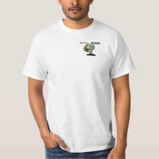 ゾンビStache - Stacheの灰色のTシャツ Tシャツ
