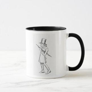 ゾーレンAabye Kierkegaardの風刺漫画 マグカップ