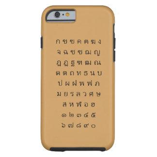 タイのアルファベットの場合iPhone6/6s ケース