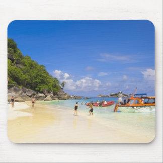 タイのアンダマン海。 国内で乗客で マウスパッド