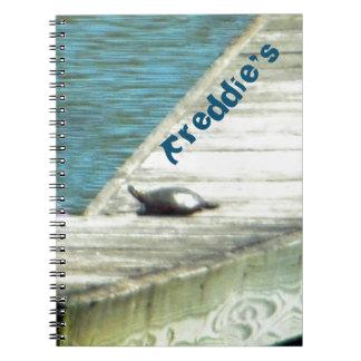 タイのカメの波止場 ノートブック