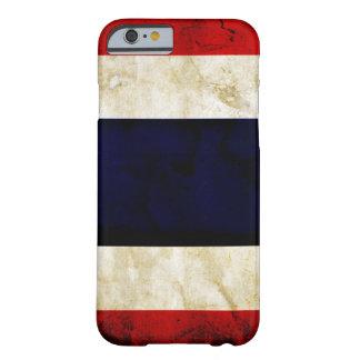 タイのグランジな旗のiPhone6ケース Barely There iPhone 6 ケース