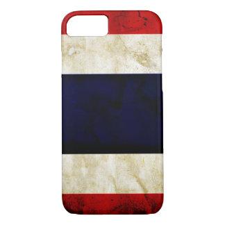 タイのグランジな旗のiPhone 7の場合 iPhone 8/7ケース