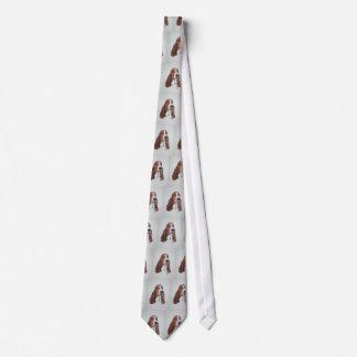 タイのバセットハウンドの芸術 ネクタイ