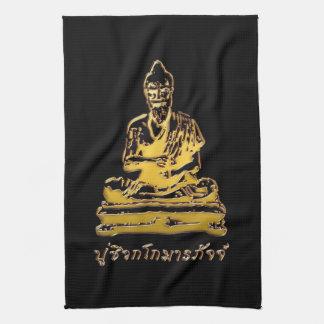 タイのマッサージのShivago Komarpaj仏 キッチンタオル