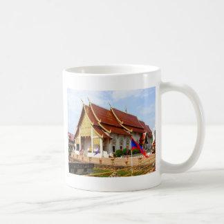 タイの仏教寺院 コーヒーマグカップ