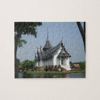 タイの寺院のパズル ジグソーパズル