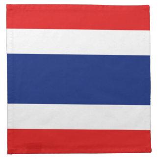 タイの旗のナプキン ナプキンクロス