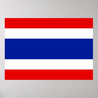 タイの旗 ポスター