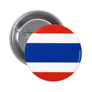 タイの旗 5.7CM 丸型バッジ