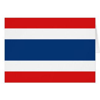タイの旗Notecard カード