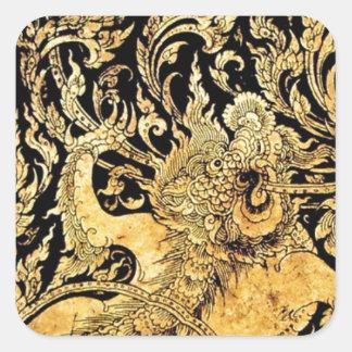 タイの神話上創造物 スクエアシール