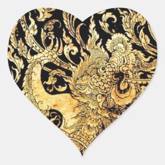 タイの神話上創造物 ハートシール