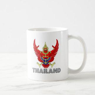 タイの紋章付き外衣 コーヒーマグカップ