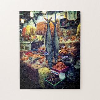 タイの魚市場のパズル ジグソーパズル