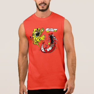 タイガー及びドラゴンドラゴンソーダTanktop 袖なしシャツ