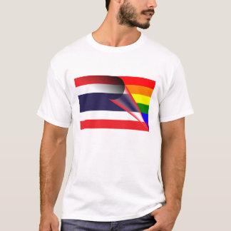 タイゲイプライドの虹の旗 Tシャツ