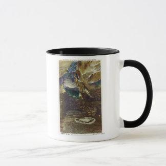 タイタンのブライダルの寺院のバルコニーの眺め マグカップ