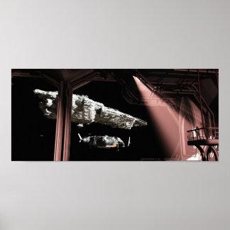タイタンの波止場を去ること ポスター