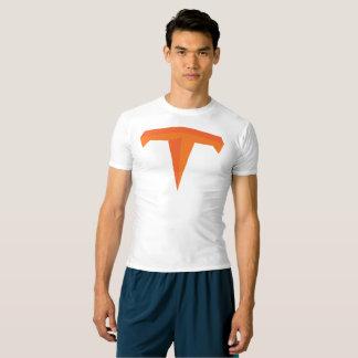 タイタンのSuperTitanの運動圧縮のティー Tシャツ