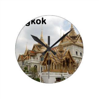 タイバンコクの壮大な宮殿(新しい) (St.K) ラウンド壁時計