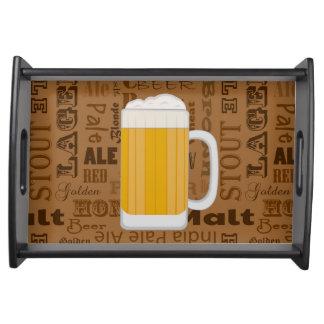 タイプのビールシリーズプリント1 トレー