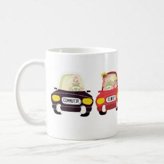 タイプの運転者 コーヒーマグカップ