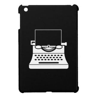 タイプライターのピクトグラムのiPad Miniケース iPad Mini カバー