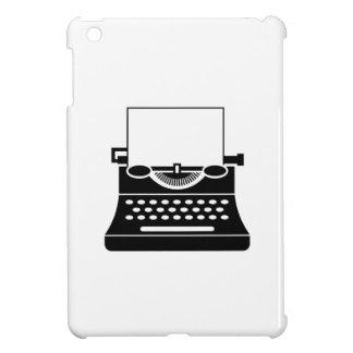 タイプライターのピクトグラムのiPad Miniケース iPad Mini Case