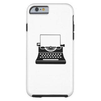 タイプライターのピクトグラムのiPhone6ケース ケース