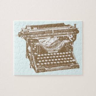 タイプライター ジグソーパズル