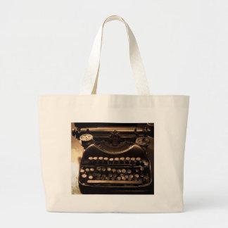 タイプライター ラージトートバッグ