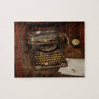 タイプライター-私のボスのオフィス ジグソーパズル