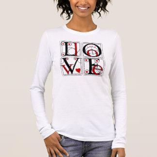 タイポグラフィの愛 Tシャツ