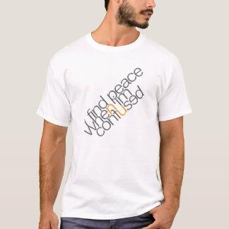 タイポグラフィのTシャツのデザイン Tシャツ