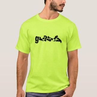 """タイポグラフィ""""重力"""" T Tシャツ"""
