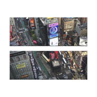 タイムズ・スクエアニューヨークシティ キャンバスプリント