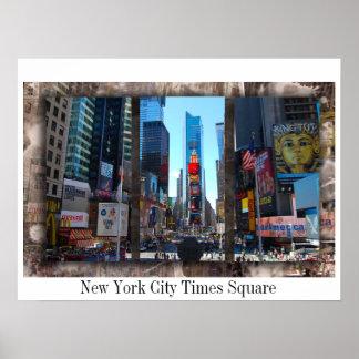 タイムズ・スクエアニューヨークシティ ポスター